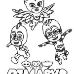 Pj Mask Disney Coloring Pages