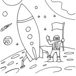 Rocket Coloring And Activity Pages For Kids
