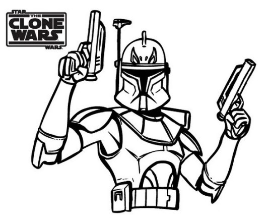 Star The Clone Wars Coloring Books