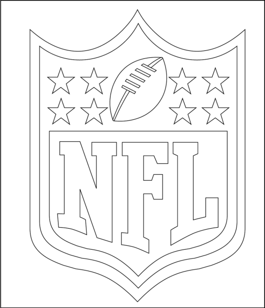 nfl and logo of many teams coloring pages coloring pages. Black Bedroom Furniture Sets. Home Design Ideas