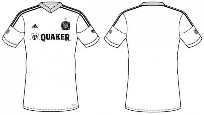 Soccer Jersey Design Coloring Picture