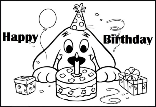 oh clifford puppy days coloring pages - photo #34
