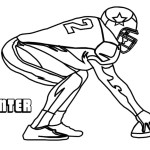 dallas cowboys players american football teams coloring pages