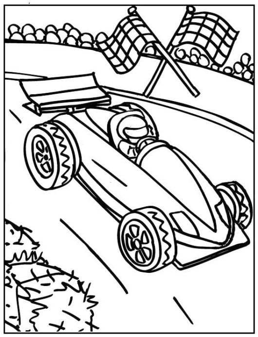 Formula 1 Racing Cars Coloring Pages Coloring Pages
