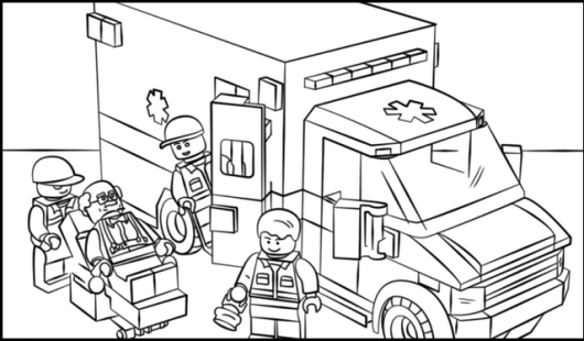 Top Fantastic Ambulance Coloring Page 8 Pictures - Coloring Pages