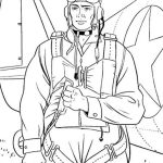 soldier military coloring page