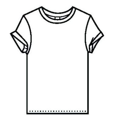 t shirt baseball coloring top shirt page