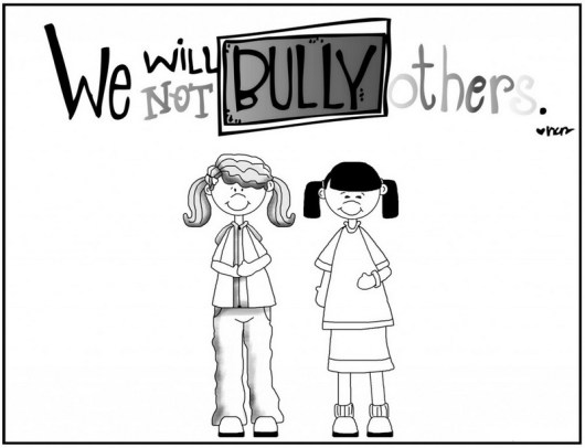 "Anti Bullying Coloring Pages with a Message ""Be Kind to the Others ..."