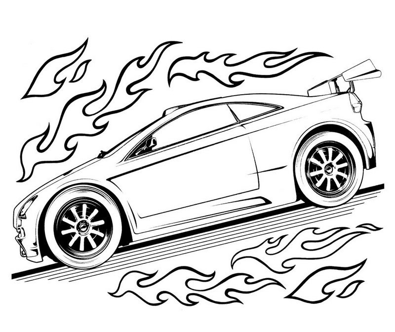 hot wheels bmw coloring pictures