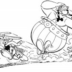 Asterix and obelix the new adventure coloring sheet