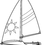 Epick Sailboat Coloring Sheet