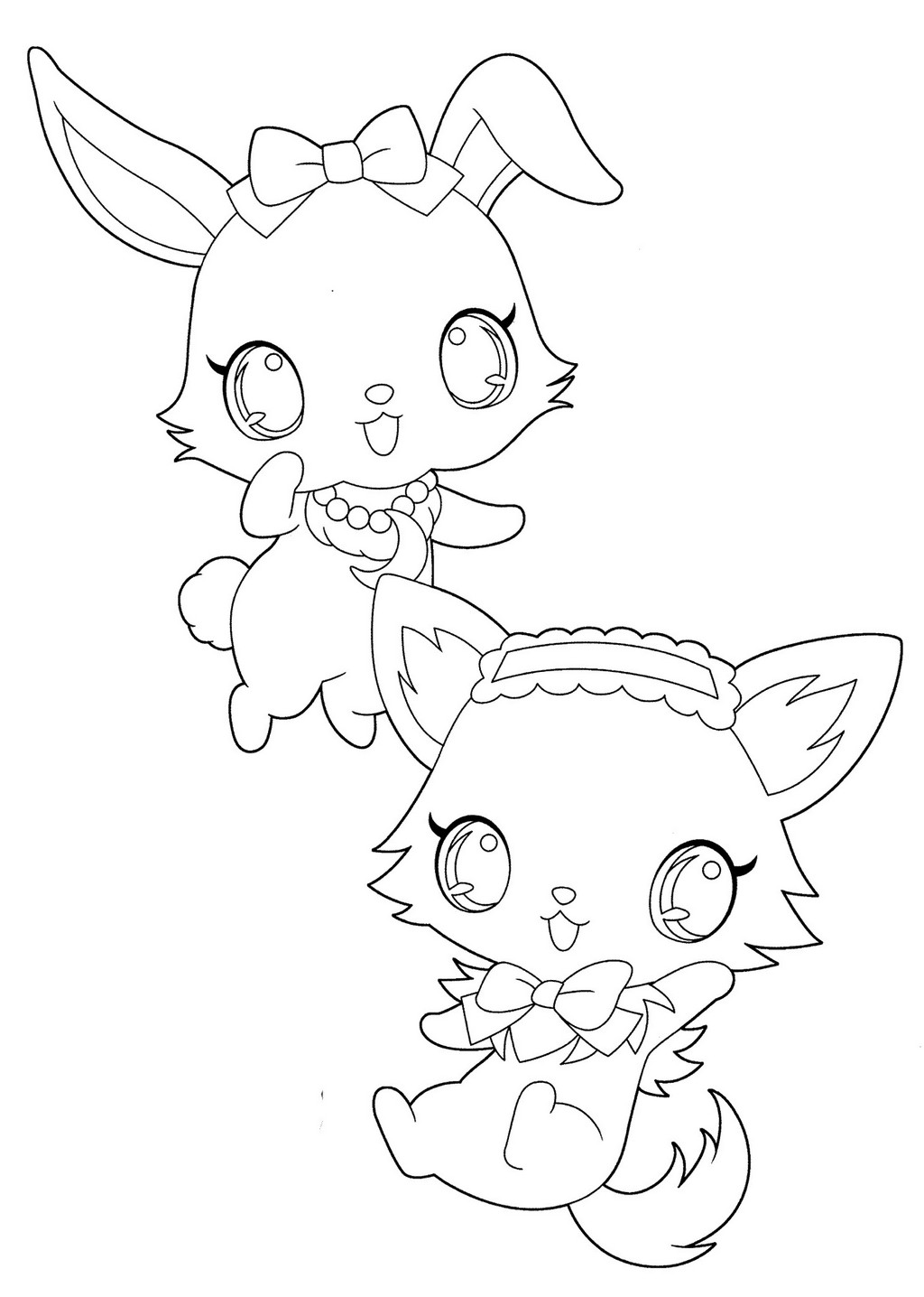 Jewelpet Sweetspets Coloring Pages