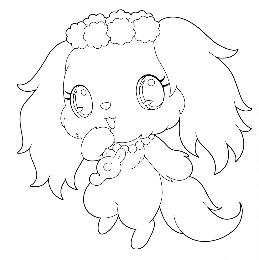Sapphie Jewelpet coloring page
