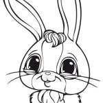 rabbit littlest pet shop coloring pages online for preschool children