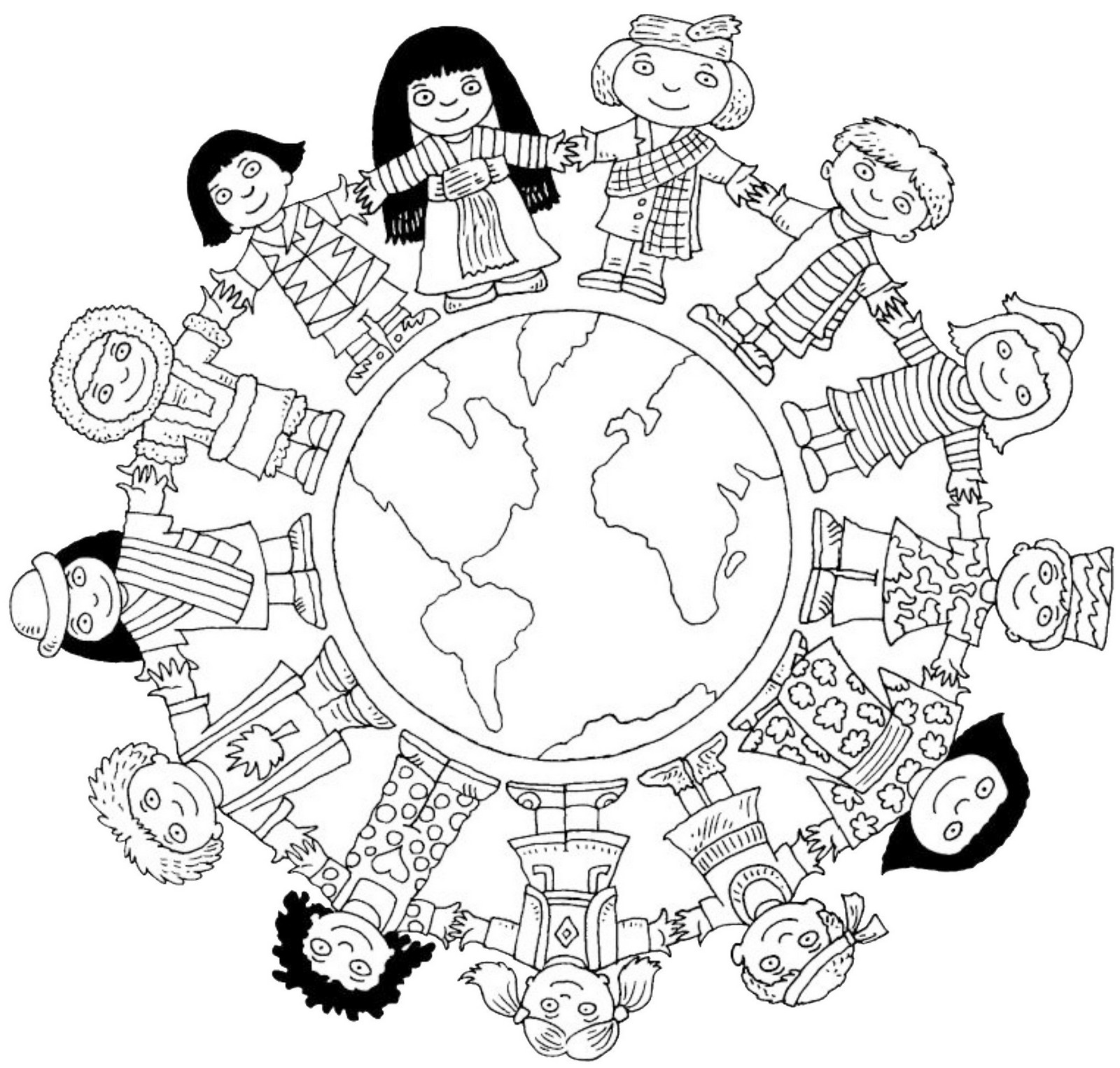 high detailed maps of the world coloring pages for elementary Patriotic Coloring Pages cultural diversity coloring pages