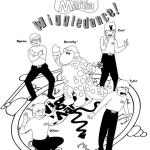 best wiggles dance coloring page