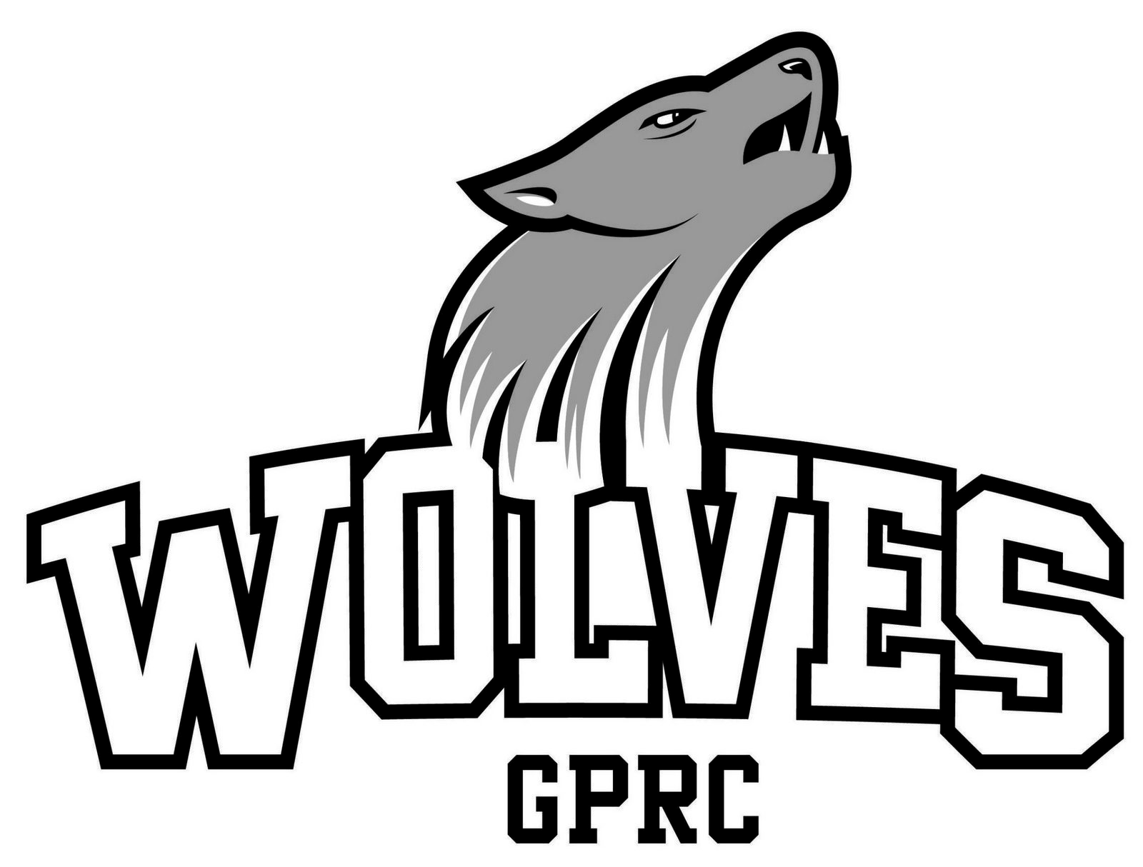 Gprc Wolves Volleyball Logo Coloring And Drawing Page