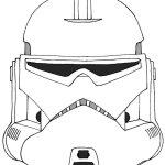 stormtrooper star wars helmet coloring page