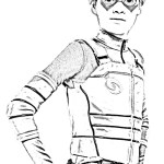 fantastic henry danger coloring sheet for kids