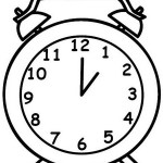 top alarm clock coloring sheets for kids