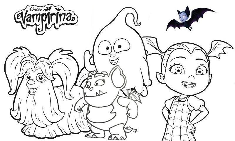 Coloring Pages Vampirina Coloring Pages Patinsudouest