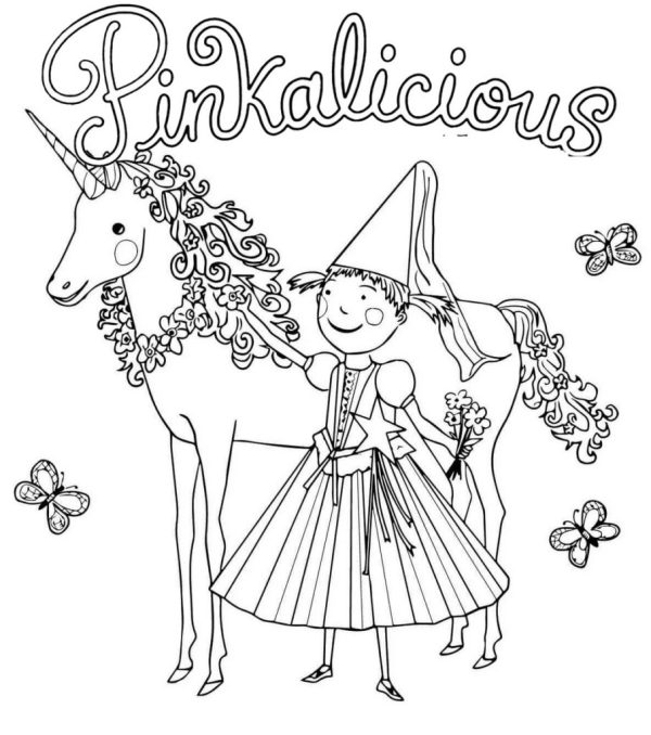 pinkalicious coloring pages # 57