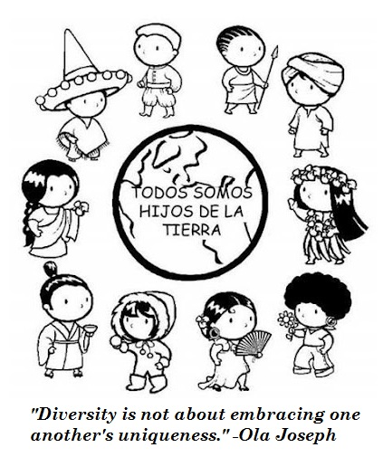 inspirational quotes of multicultural diversity in unity