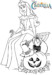 15 Most Favorite Disney Halloween Coloring Pages for Preschool