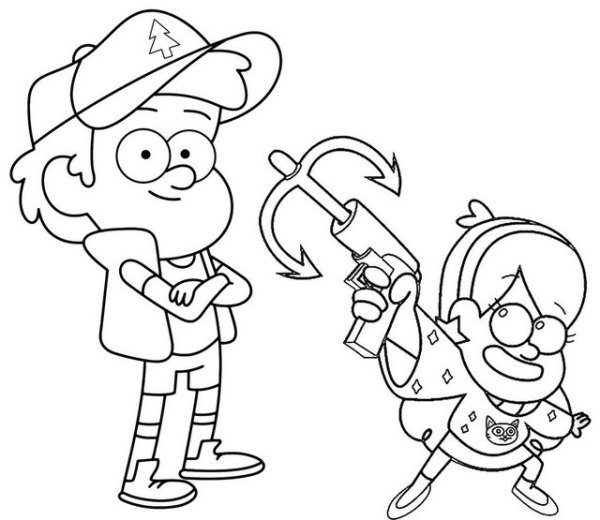 20 Dipper Gravity Falls Coloring Pages Ideas And Designs