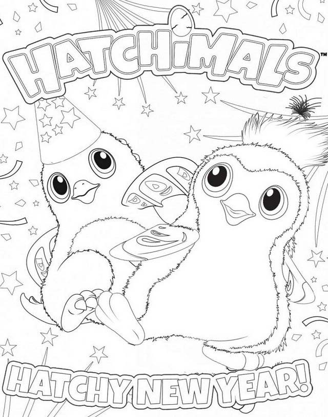 bunwee from hatchimals coloring pages free printable