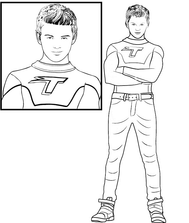 Max Thundermans Coloring Page
