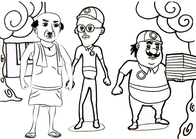 Motu Patlu Cartoon