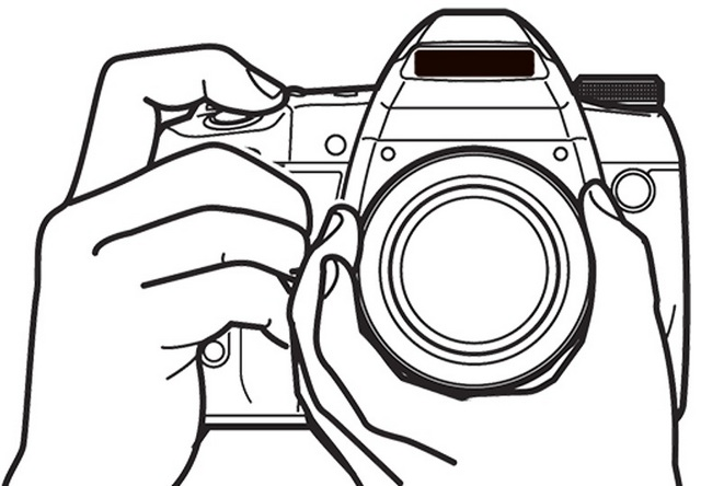 camera photography coloring page