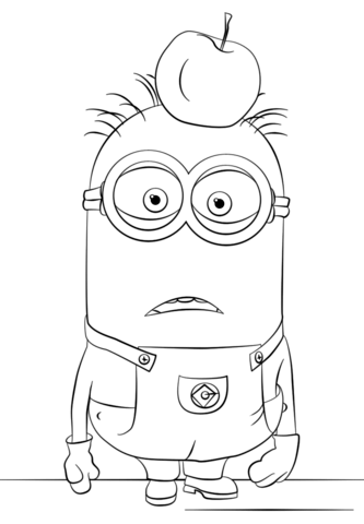 Cute Birthday Cake Wallpapers Happy Birthday Minion Coloring Page Free Coloring Pages