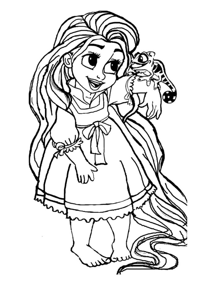 Rapunzel Coloring Pages - Coloring Pages For Kids And Adults