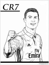 Disegni Da Colorare E Stampare Di Ronaldo
