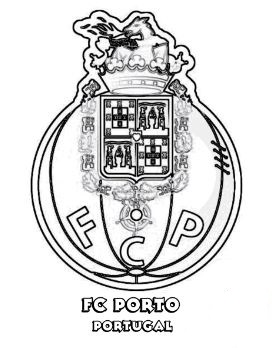 Portuguese Primeira Liga Team logos Coloring Pages