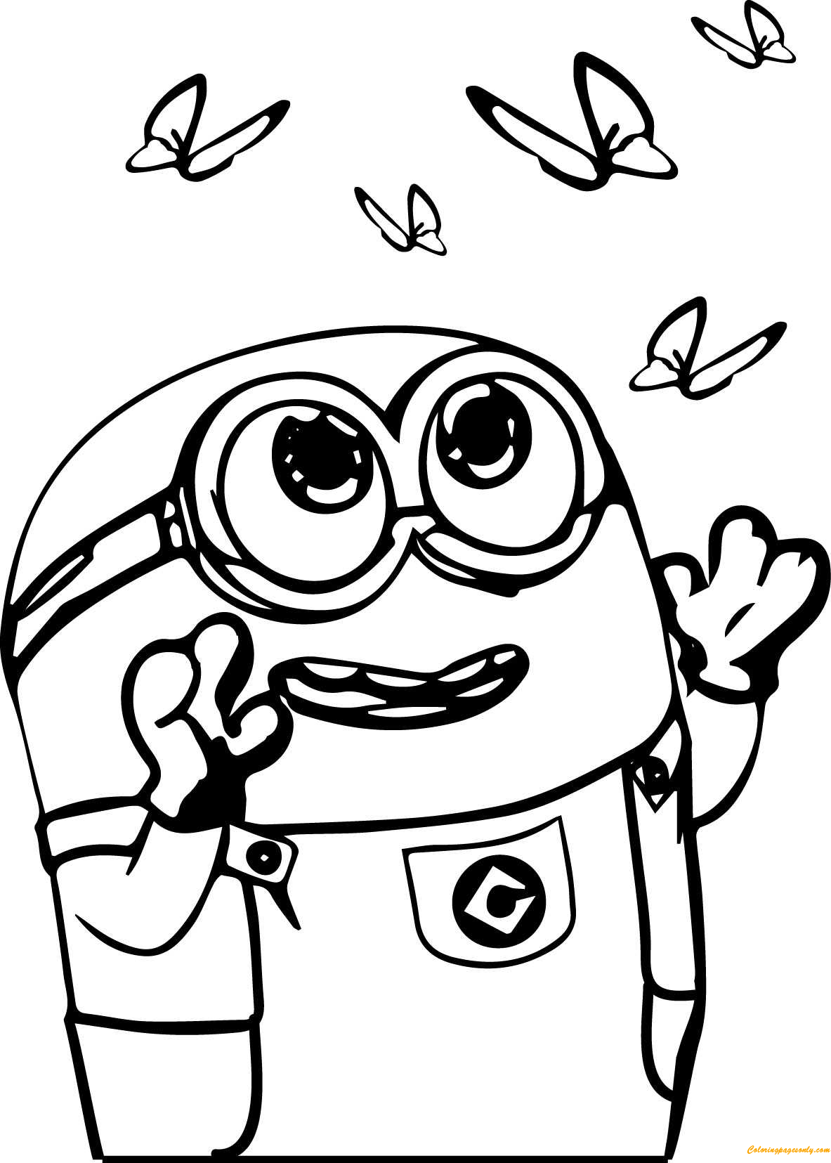 Got Milk Minion Coloring Page  Free Coloring Pages Online