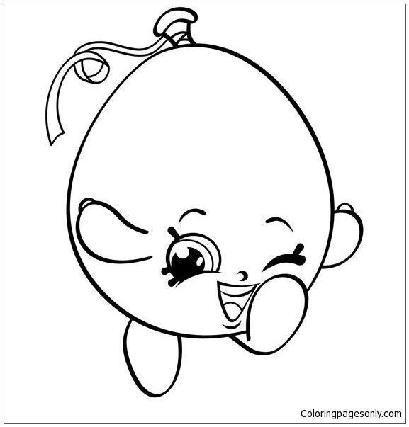 Hot Choc Coloring Pages