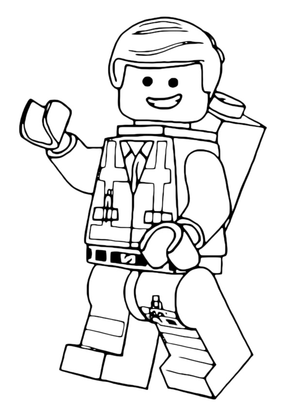 lego star wars clone decorating christmas coloring page