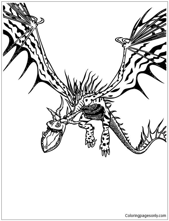 Bearded Dragon Zentangle