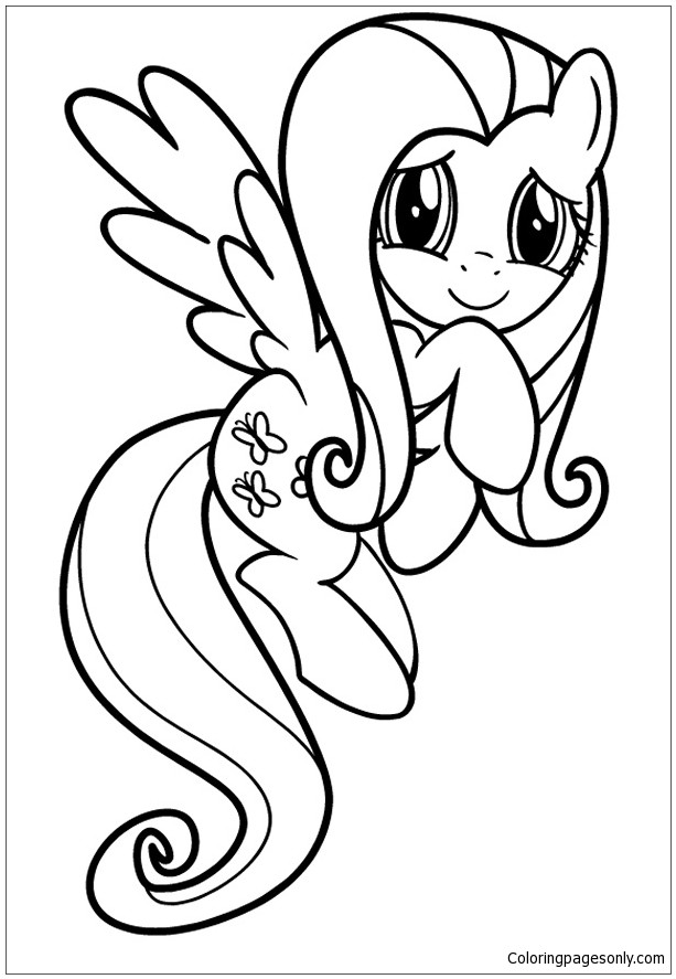 My Little Pony 7 Coloring Page - Free Coloring Pages Online
