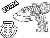 Paw Patrol Marshall Coloring Page Free Coloring Pages Online