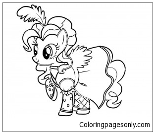 Pinkie Pie Coloring Page Free Coloring Pages Online