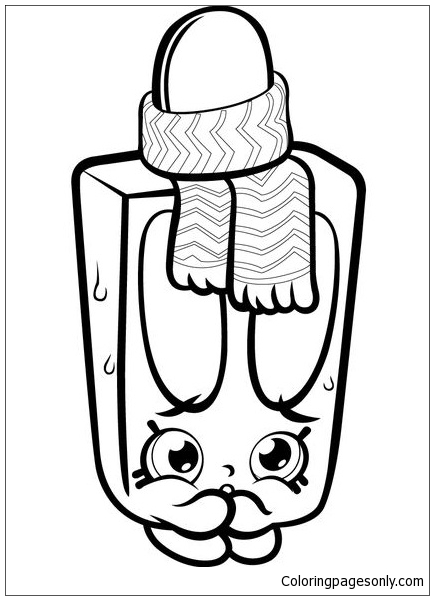 Popsi Cool Shopkins Coloring Page Free Coloring Pages Online