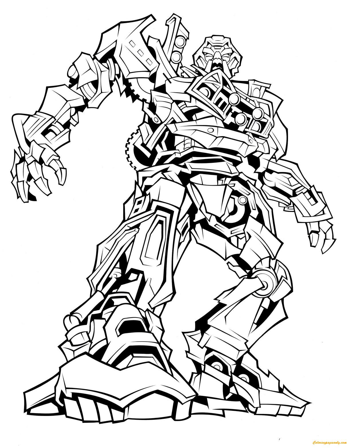 ausmalbilder transformers optimus prime  malvorlagen gratis