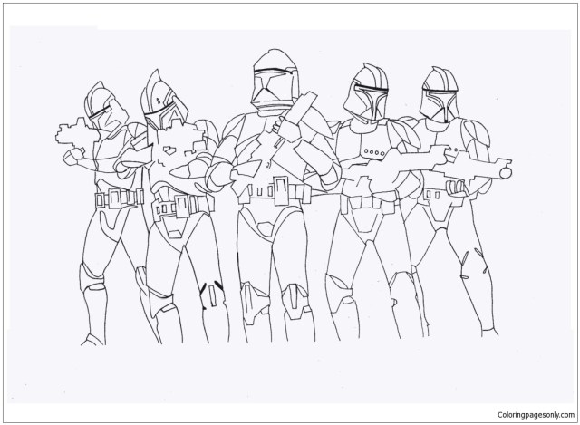 Star Wars Ausmalbilder Stormtrooper Coloring Pages - Cartoons