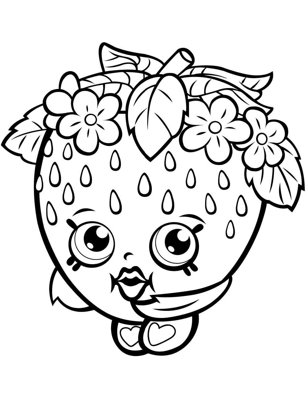 Kooky Cookie Shopkin Season 1 Coloring Games Coloring Games At