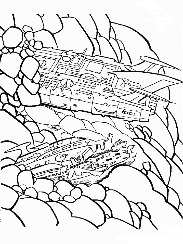 Sound Wave Transformer Coloring Page Coloring Pages