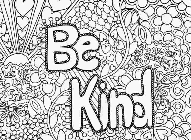 Hard Coloring Pages - Coloring Pages For Kids And Adults